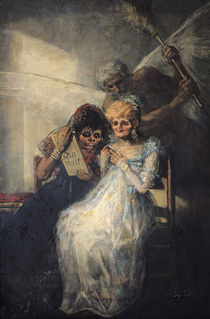 Time of the Old Women, 1820 von Francisco Jose de Goya y Lucientes