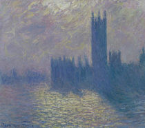 The Houses of Parliament, Stormy Sky by Claude Monet
