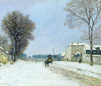 Winter, Snow Effect, 1876 von Alfred Sisley