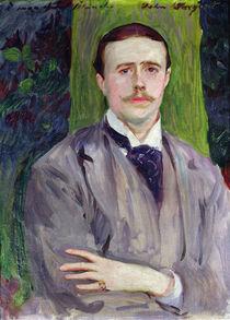 Portrait of Jacques-Emile Blanche by John Singer Sargent