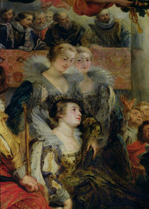 The Medici Cycle: The Coronation of Marie de Medici at St. Denis von Peter Paul Rubens