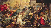 The Apotheosis of Henri IV and the Proclamation of the Regency of Marie de Medici von Peter Paul Rubens