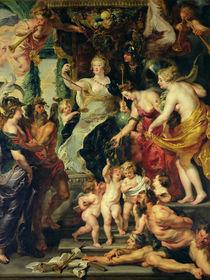 The Felicity of the Regency von Peter Paul Rubens