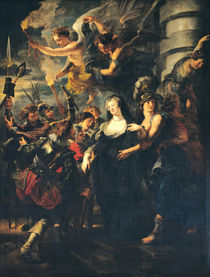 The Medici Cycle: Marie de Medici Escaping from Blois by Peter Paul Rubens