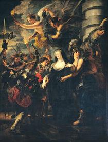 The Medici Cycle: Marie de Medici Escaping from Blois von Peter Paul Rubens