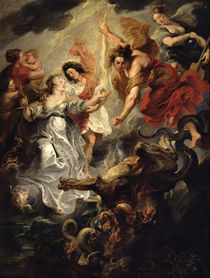 The Reconciliation of Marie de Medici and her son von Peter Paul Rubens