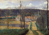 Ville-d'Avray, c.1820 by Jean Baptiste Camille Corot