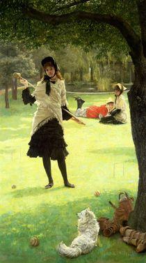 Croquet, c.1878 von James Jacques Joseph Tissot