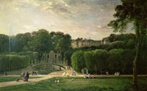 The Park at St. Cloud, 1865 by Charles Francois Daubigny