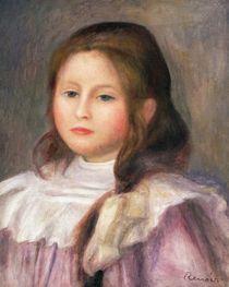 Portrait of a child, c.1910-12 von Pierre-Auguste Renoir