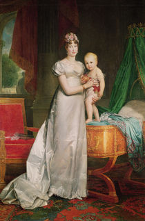 Marie Louise and the King of Rome by Francois Pascal Simon, Baron Gerard