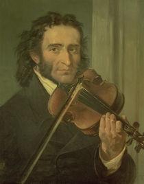 Portrait of Niccolo Paganini by Italian School
