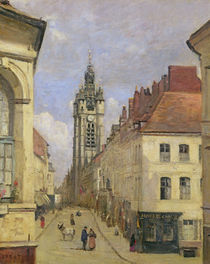 The Belfry of Douai, 1871 by Jean Baptiste Camille Corot