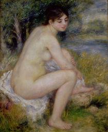 Nude in a Landscape, 1883 von Pierre-Auguste Renoir