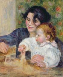 Gabrielle and Jean, c.1895-6 von Pierre-Auguste Renoir