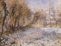 Snowy Landscape von Pierre-Auguste Renoir