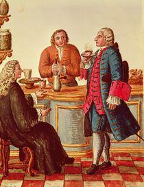 Venetian Noblemen in a Cafe