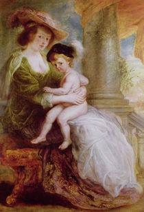 Helene Fourment and her son Frans von Peter Paul Rubens