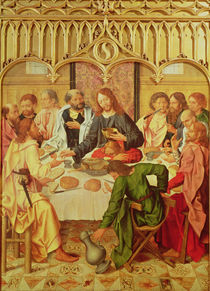 The Last Supper by Master of the Evora Altarpiece
