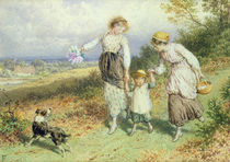 Returning from the Village by Myles Birket Foster