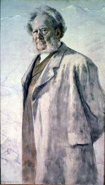 Portrait of Henrik Ibsen, 1895 by Erik Theodor Werenskiold