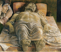 The Dead Christ, c.1480-90 by Andrea Mantegna