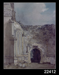 East Bergholt Church: North Archway of the Ruined Tower by John Constable