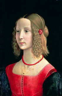 Portrait of a Girl, c.1490 by Domenico Ghirlandaio
