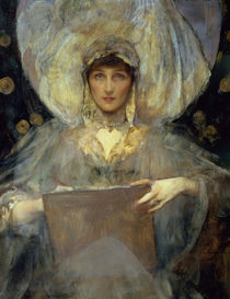 Portrait of Violet, Duchess of Rutland by James Jebusa Shannon