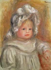 Portrait of a Child von Pierre-Auguste Renoir