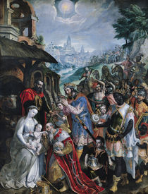 The Adoration of the Magi von Maarten de Vos