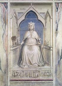 Allegory of Justice, c.1305 by Giotto di Bondone