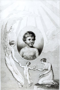 Mary Wollstonecraft Shelley as a child by William Blake
