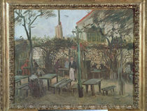 Pleasure Gardens at Montmartre by Vincent Van Gogh