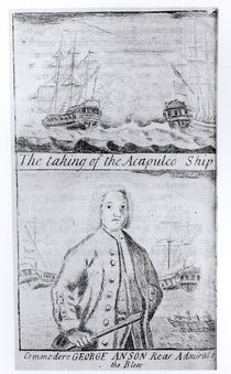 The Taking of the Acapulco Ship by English School