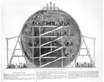 Wyld's Model of the Earth, 1851 von English School