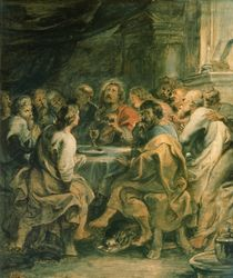 The Last Supper, c.1630-31 by Peter Paul Rubens