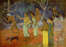 Scene from Tahitian Life, 1896 von Paul Gauguin