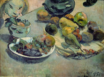 Still Life with Fruit, 1888 von Paul Gauguin