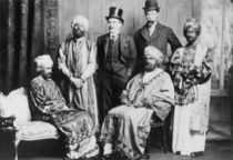 'The Emperor of Abyssinia and his Court' von English Photographer