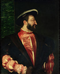 Portrait of Francis I 1538 by Titian