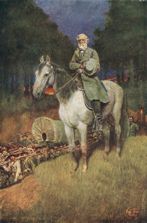 General Lee on his Famous Charger by Howard Pyle
