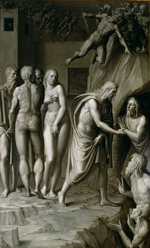 Christ in Limbo by Italian School