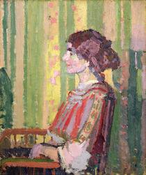 Mrs Robert Bevan, c.1913 von Harold Gilman