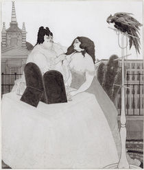 The Lady at the Dressing Table by Aubrey Beardsley
