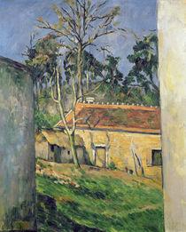 Farmyard at Auvers, c.1879-80 by Paul Cezanne