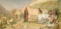 A Frank Encampment in the Desert of Mount Sinai