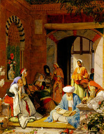 'And the Prayer of Faith Shall Save the Sick' by John Frederick Lewis