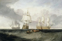 The 'Victory' Returning from Trafalgar von Joseph Mallord William Turner