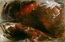 The Deluge, 1834 von John Martin